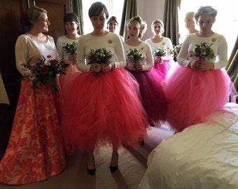 Adult tutu skirt, womens tutu, bridesmaid tutu skirt, ballet tutu, tutu skirt, wedding tutu, tutu dress, prom tutu skirt, tulle skirt
