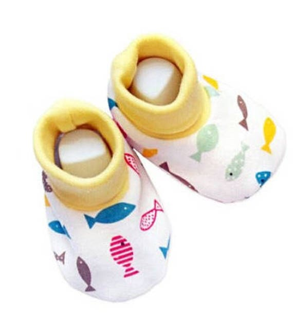 Organic cotton soft baby shoes /Baby