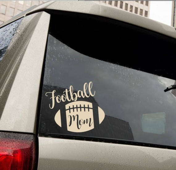 Football Mom Vinyl Decal for laptop windows wall car boat