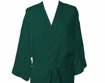 Turquoise Dressing Gown   Robe available with optional customised diamante