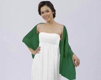 Matchimony Emerald Green Shawl