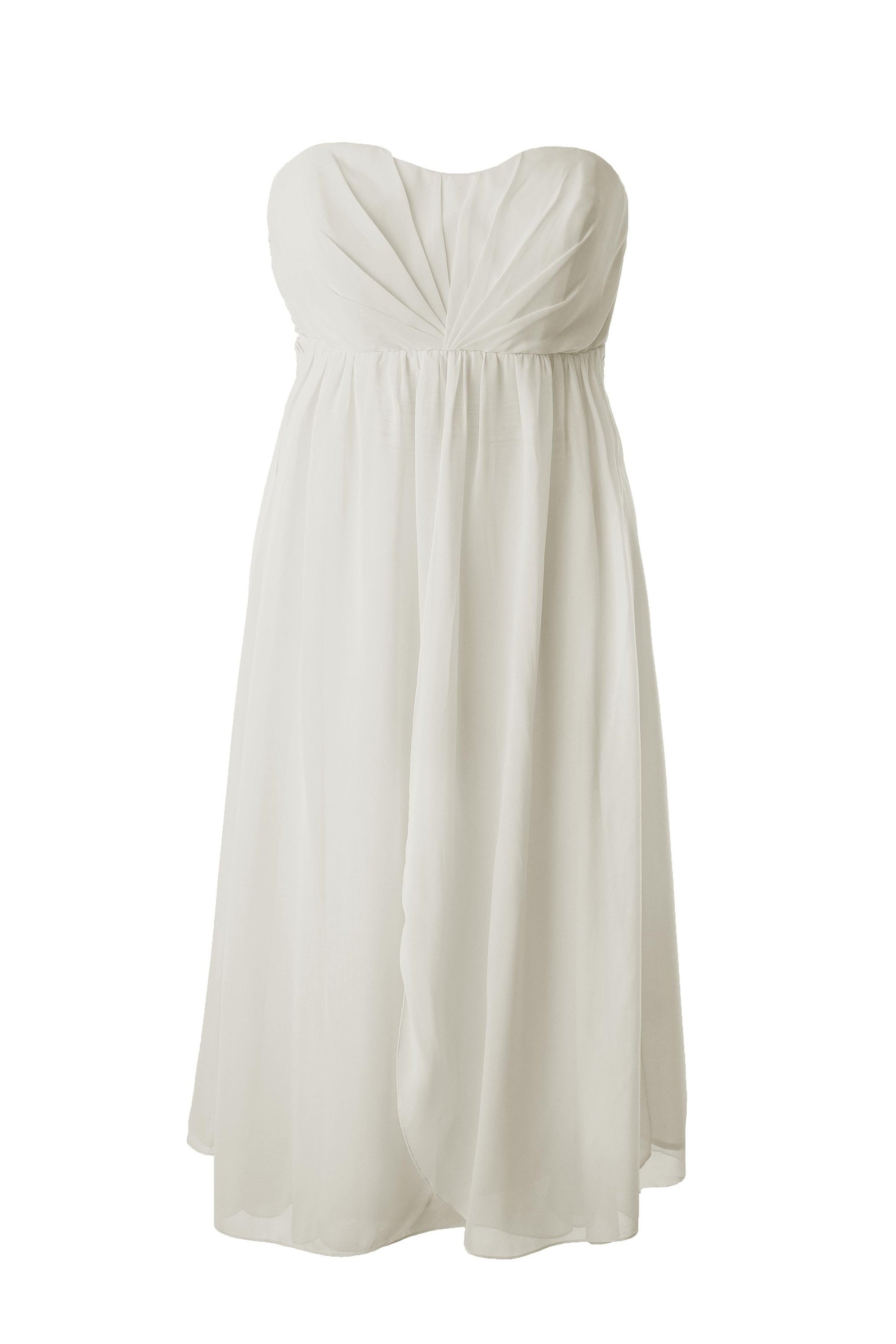 f2389ab8c87 Short Cream Multiway Convertible Bridesmaid   Prom Dress by