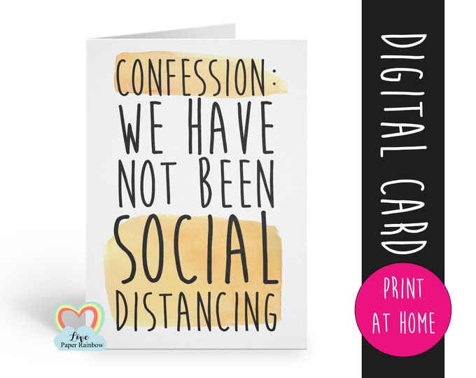 pregnancy announcement printable funny pregnancy reveal digital download social distancing pregnancy card you're going to be grandparents
