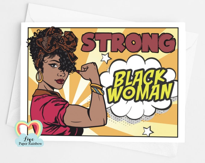 black lives matter | BLM | strong black woman | girl power | feminist card | black woman card | african lady | brown skin woman | friend