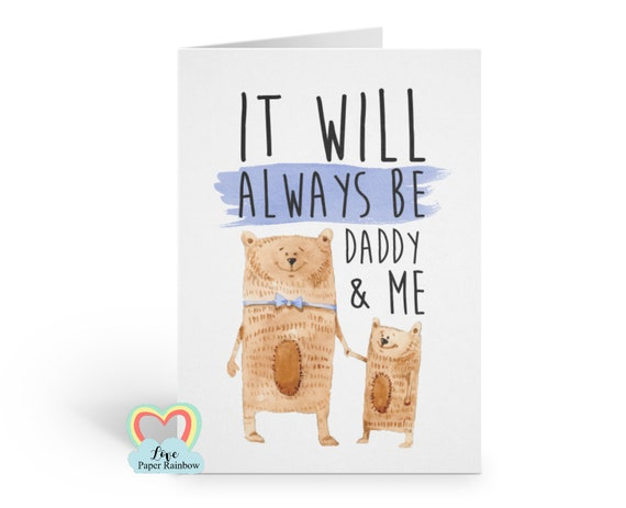father's day card, cute father's day card, 1st father's day card, first father's day card, daddy father's day card, daddy birthday card