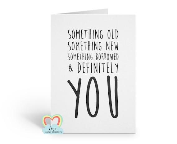 something old something new,  BRIDESMAID card, funny bridesmaid card, will you be my bridesmaid cards bridesmaid proposal, bridal shower