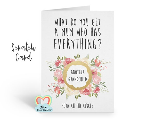 you're going to be a grandma nanny nana nanna grany scratch card i'm pregnant funny pregnancy announcement grandma reveal granny card