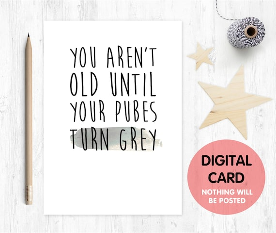 Printable Birthday Card Funny Rude Inappropriate