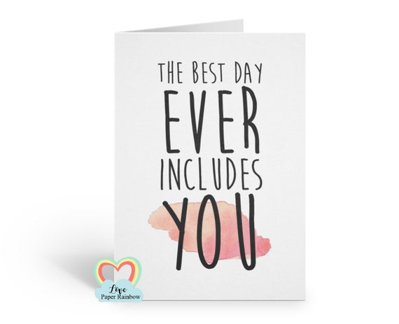 will you be my bridesmaid funny card, maid of honour card, the best day ever includes you, bridesmaid quote, bridesmaid proposal,