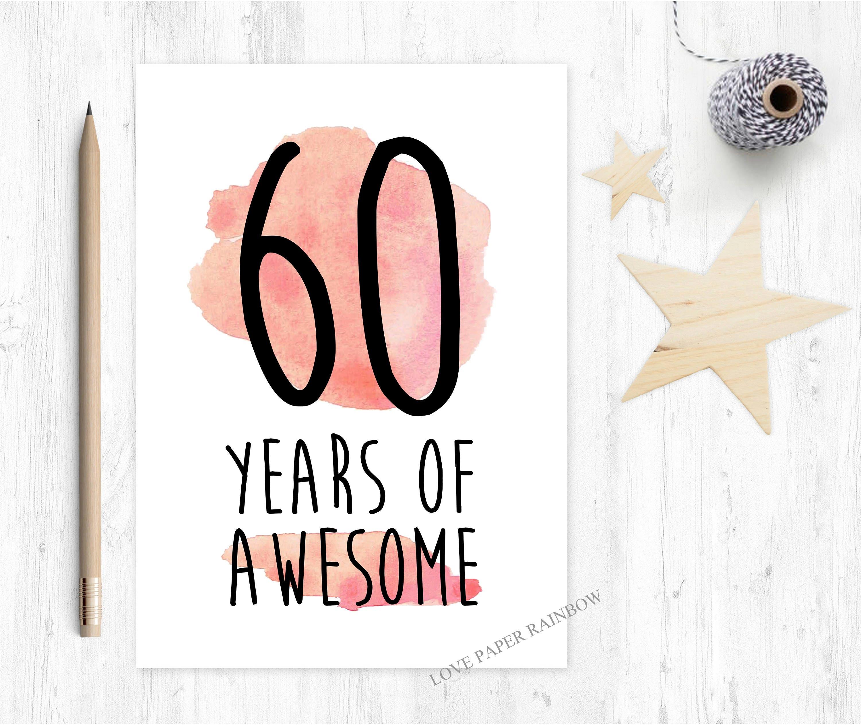 60th birthday card funny 60th birthday card 60 years of awesome 60th birthday card funny 60th birthday card 60 years of awesome awesome 60th birthday card 60th card funny 60th card m4hsunfo