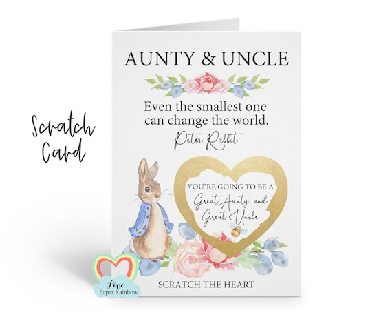 i'm pregnant, pregnancy reveal, pregnancy announcement, pregnancy scratch card, i'm pregnant scratch card, great aunty and great uncle