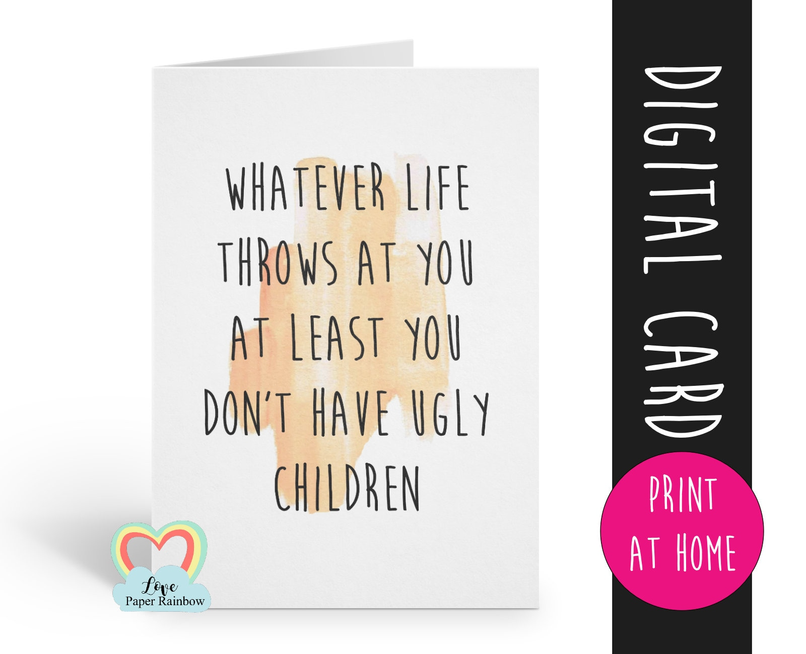 Printable Dad Birthday Card 1