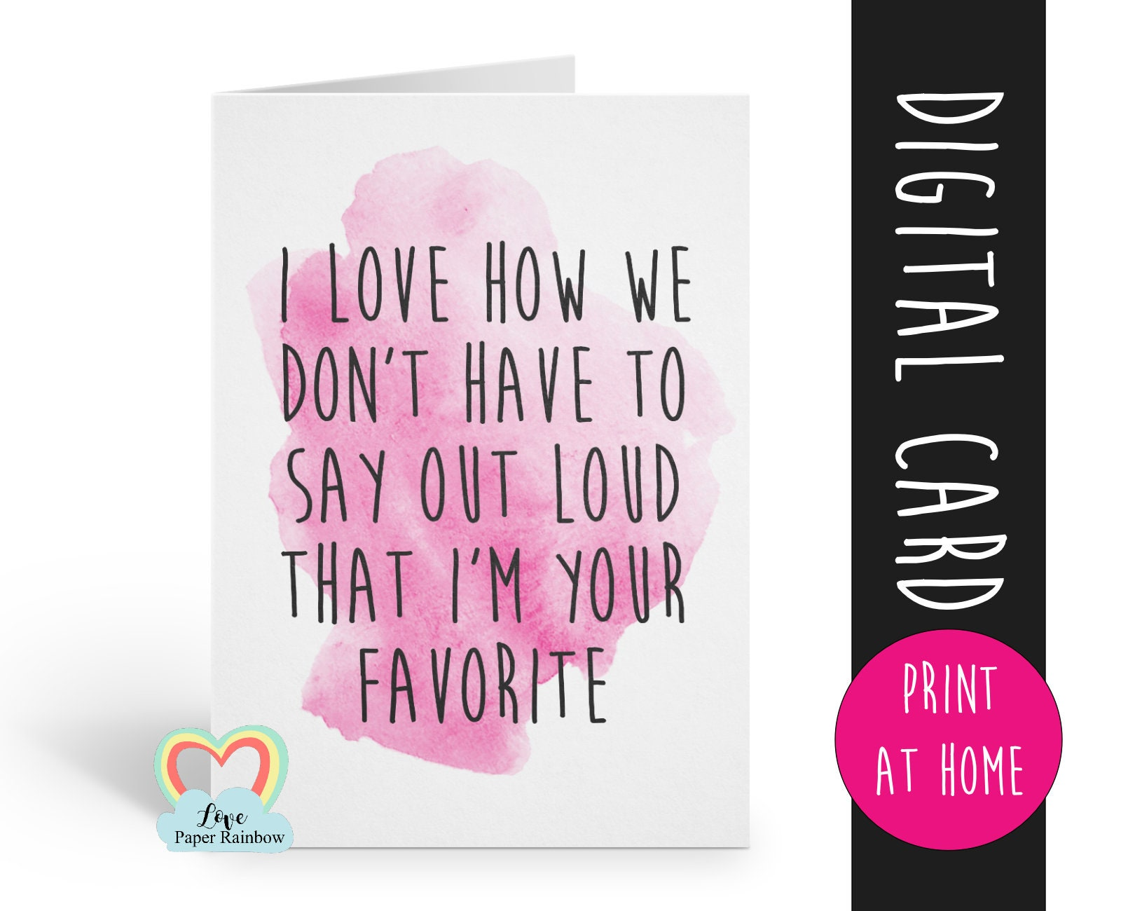 Printable Mother S Day Card Funny Mother S Day Card Digital