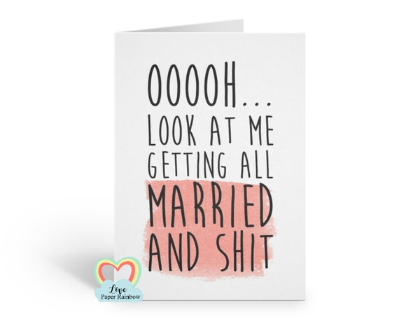 funny bridesmaid card, will you be my bridesmaid card, will you be my maid of honour card, engagement announcement, matron of honour card