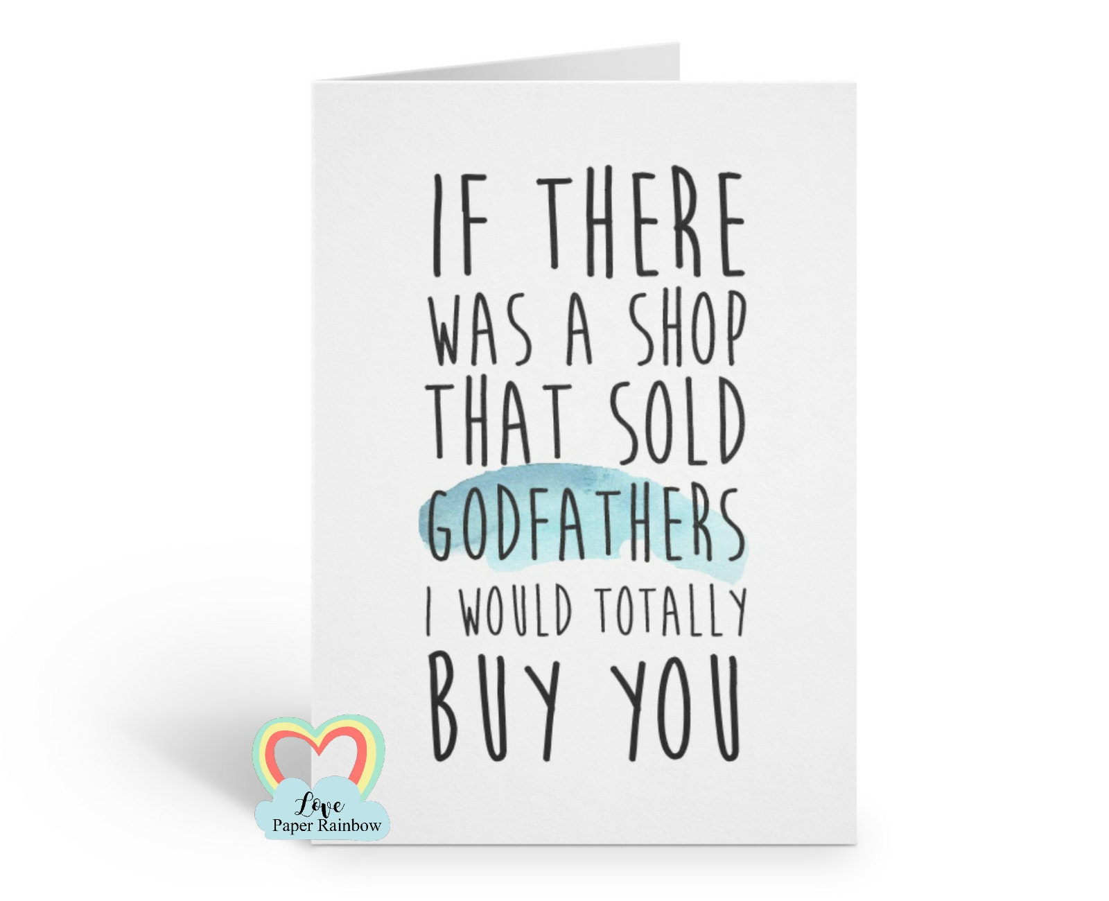 Godfather Card Funny Quote