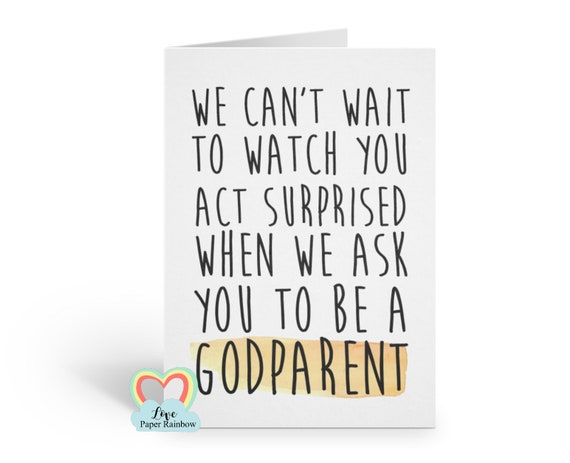 funny godmother card will you be my godfather card godmother proposal godmother quote godparent card will you be my godparent