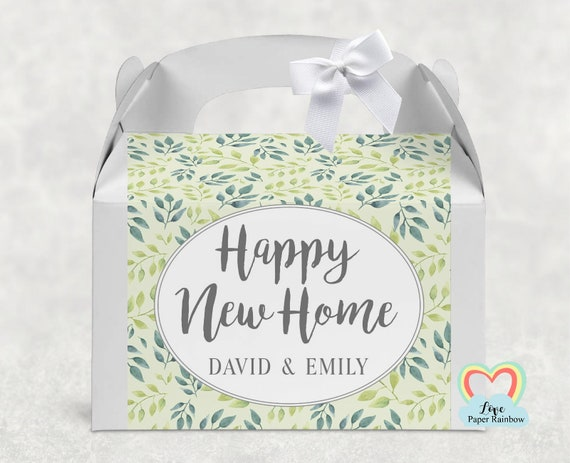 Personalised New Home Gift Box, new home treat box, Personalised Home Gifts, New home gift, First home gift, Housewarming present
