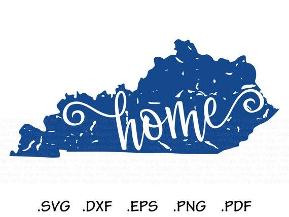 Distressed Kentucky Svg Southern Svg State Svg Kentucky Etsy