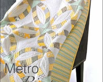 Metro Rings Quick Curve Ruler Quilt Pattern by Sew Kind of Wonderful - Strip Set Friendly Quilt Pattern