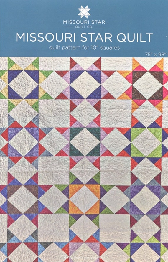 Msqc Missouri Star Quilt Quilt Pattern For 10 Etsy