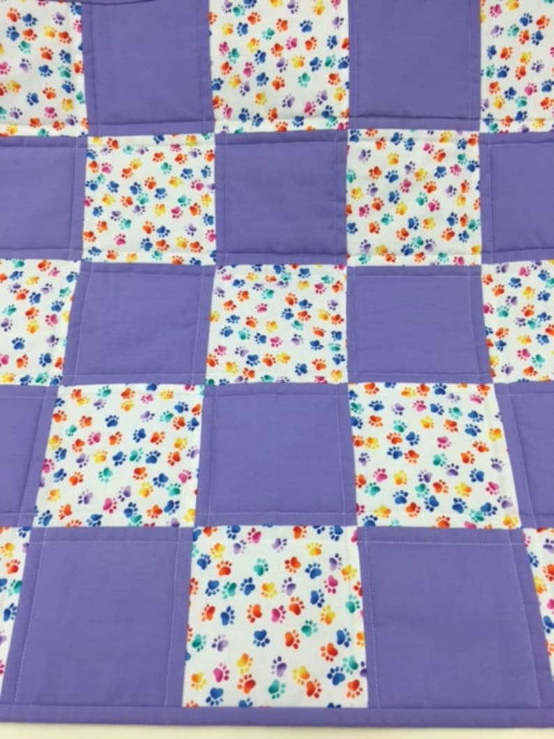 Finished quilt approximately 22x22