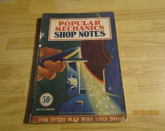 Popular mechanics Shop Notes