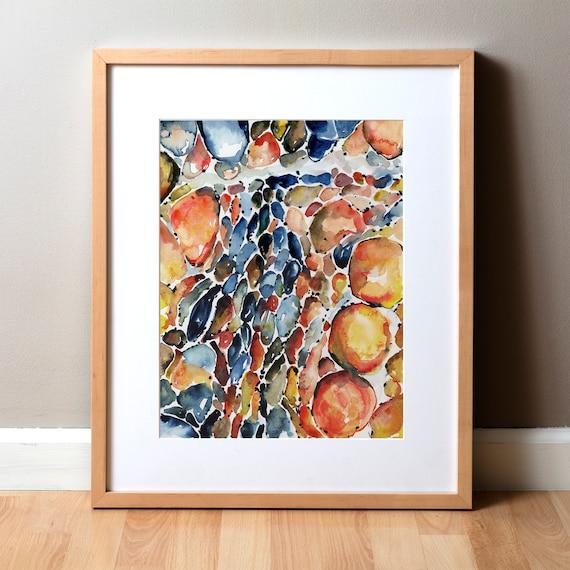 Abstract Watercolor Anatomy Art