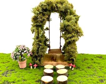 Fairy Garden Swing Set