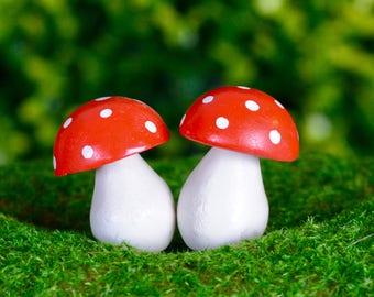 Fairy Garden Toadstool Pair