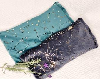 Weighted Lavender Eye Mask, Lavender Scented Eye Pillow, Eye Pillow for Meditation, Relaxation Gift, Self Care Gift, Aromatherapy Eye Pillow