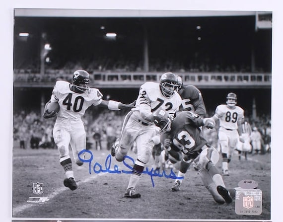 4d36198d96a Gale Sayers Signed 8x10 Photo Chicago Bears
