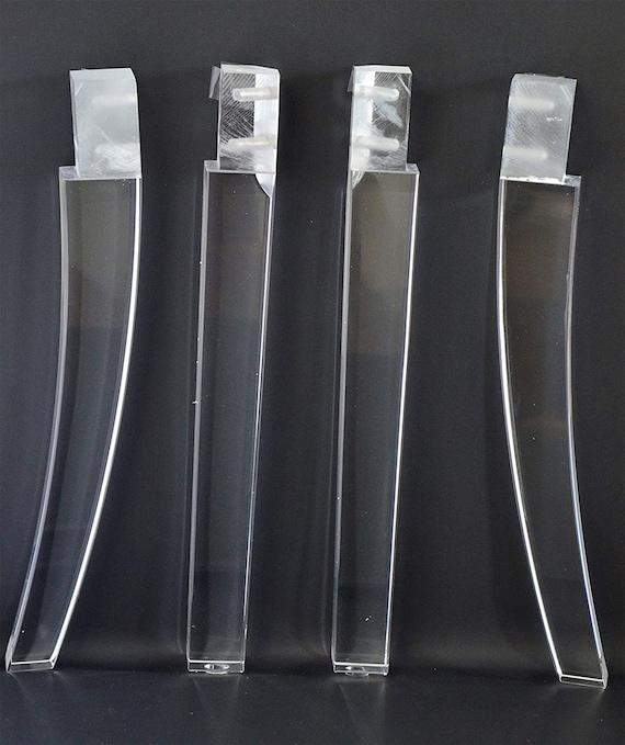 Acrylic Furniture Legs 15 16 Inch H For, Acrylic Furniture Legs