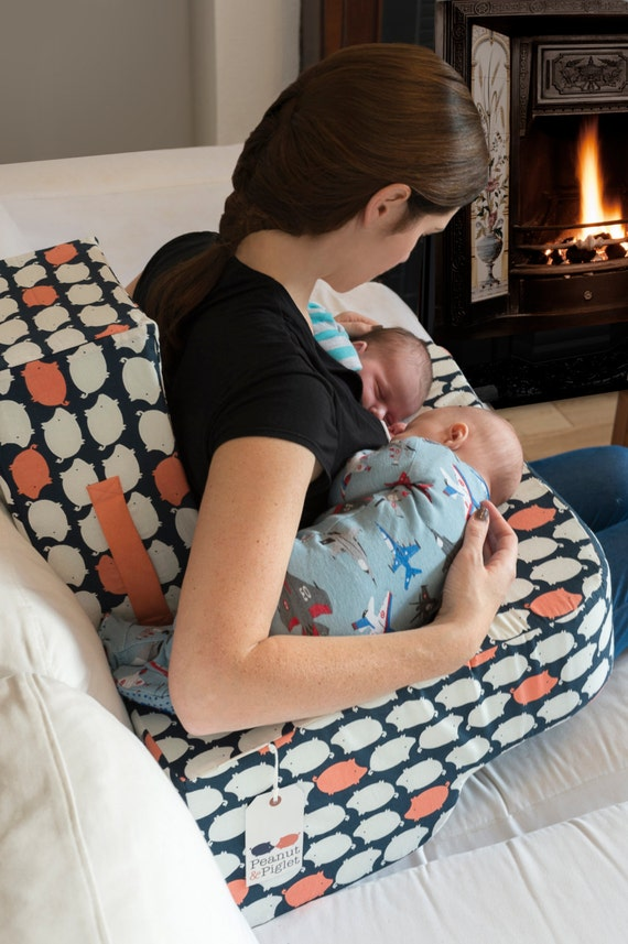 Twin Feeding Nursing Pillow by Peanut