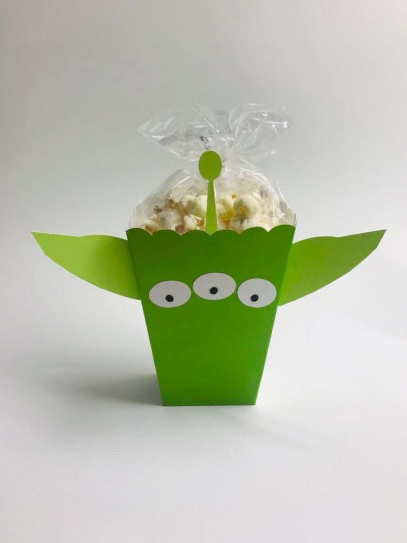 Toy Story Space Alien Popcorn Box Space Alien Popcorn Bag