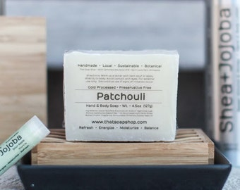 Patchouli - Shea Butter & Jojoba Soap