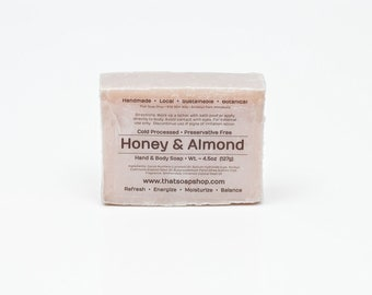 Honey and Almonds - Shea Butter & Jojoba Soap