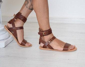 Gladiator sandals men | Etsy