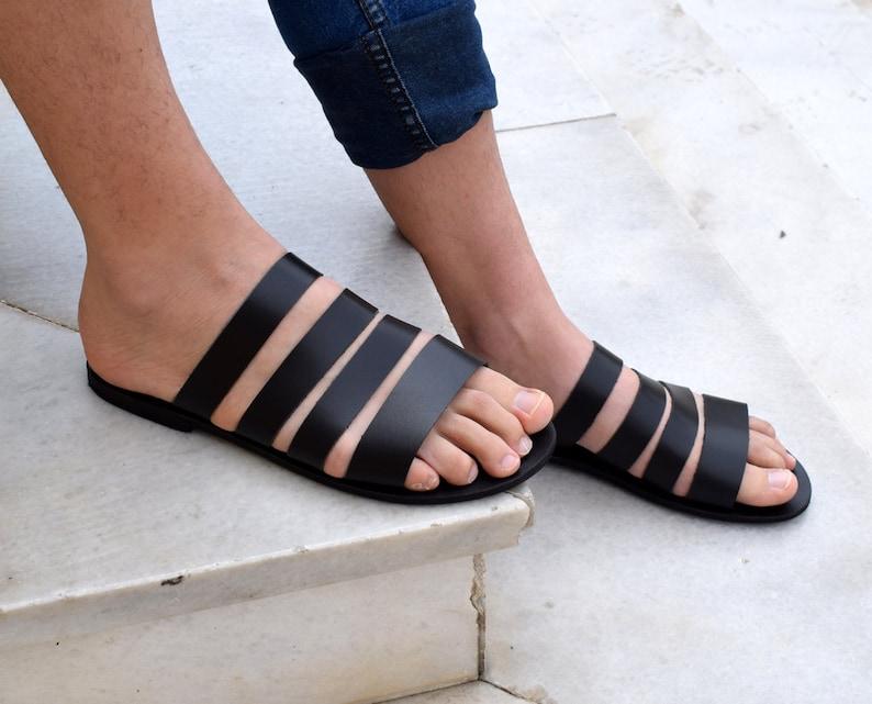 436cddaba04 Gladiator Men Sandals  Greek men sandals  Gift For Men