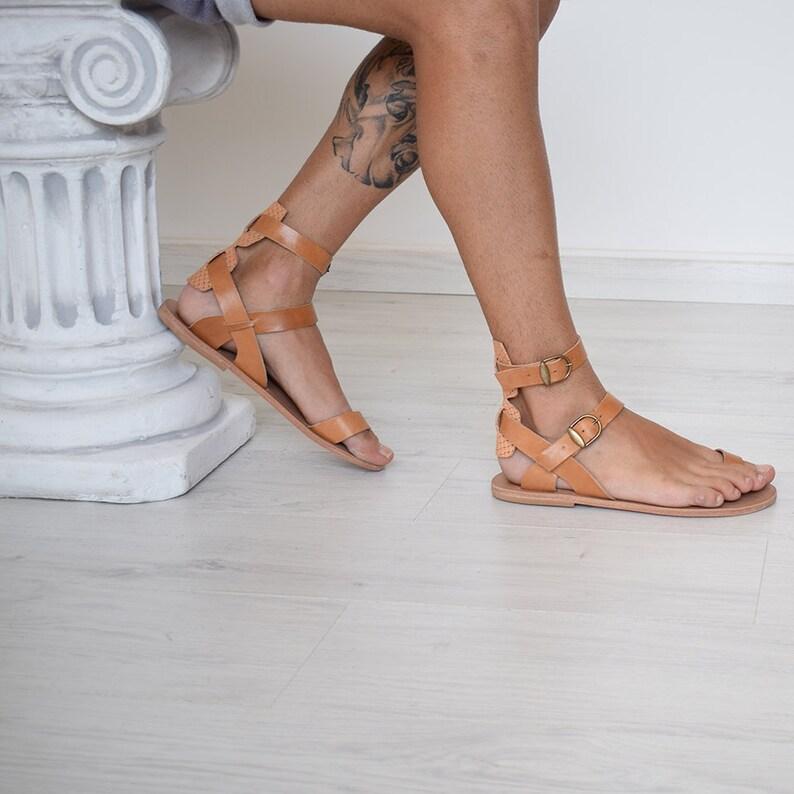 d97228fef5cf84 Handmade Sandals Men Flip Flops Men Sandals Leather