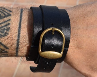 Leather bracelet, Brother Gift, mens bracelet, men's jewelry, Mens Gift, Dad Gift, Husband Gift, Mens Bracelet, Gift For Men, Gothic and me