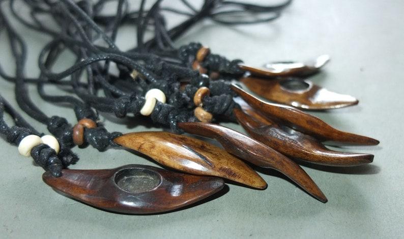 FREE SHIPPING Buddhist Jewelry Eight Bone Amulets Pendants from Nepal Folk Amulet