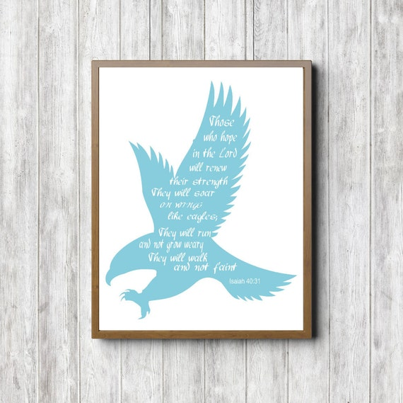 Scripture Printable - Hope In The Lord