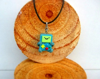 Adventure time BMO necklace
