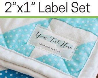 7765581a0f6d Custom fabric labels | Etsy