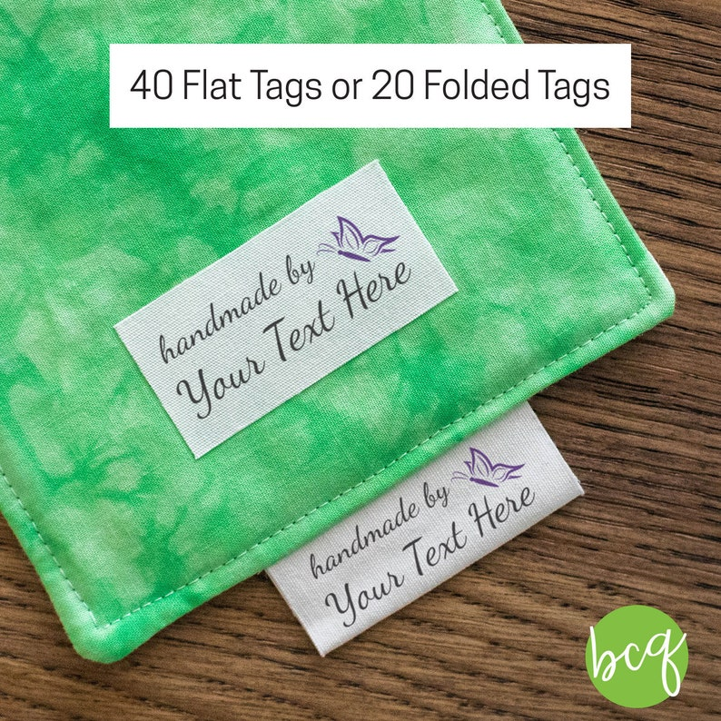 62d1f2ba000e sewing tags, butterfly fabric label, product label, iron on label, fabric  tags, sewing label, personalized sewing label, product tag, LS19