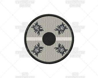 Floki Shipwright Magician Vikings Warrior Skadi Machine Embroidery Pattern Design
