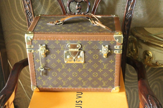 Louis Vuitton Train Case, Louis Vuitton Boite Phar
