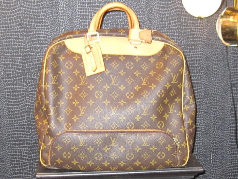 58f33fcc69e1 Louis Vuitton Monogram Canvas Travel Bag