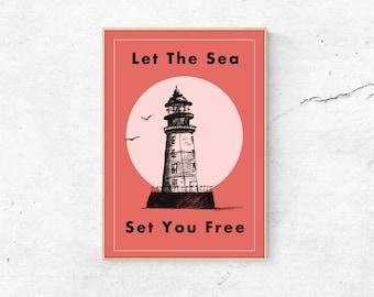 Poster Sea DINA3