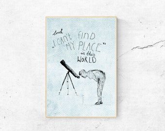 Poster Place in this World DINA3
